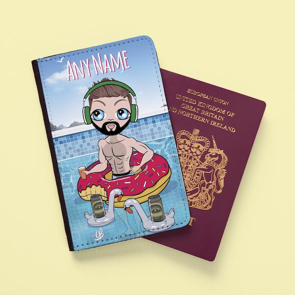 MrCB Pool Party Passport Cover - Image 1