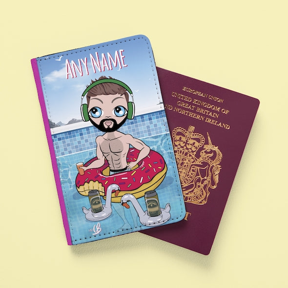 MrCB Pool Party Passport Cover - Image 2