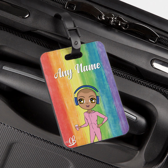 MrCB Rainbow Luggage Tag - Image 1