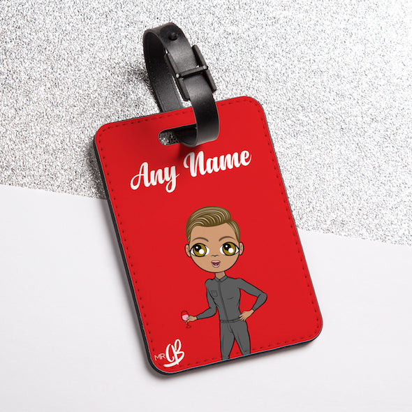 MrCB Red Luggage Tag - Image 1