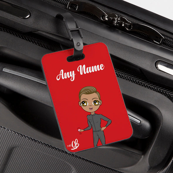 MrCB Red Luggage Tag - Image 2
