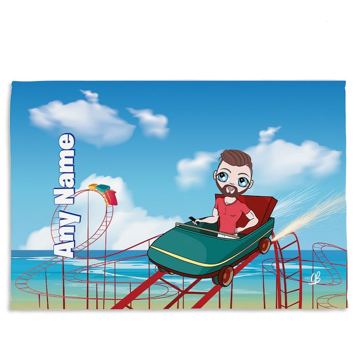 MrCB Thrill Seeker Fleece Blanket - Image 1