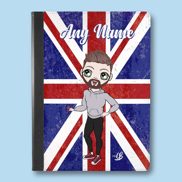 MrCB Union Jack iPad Case - Image 1