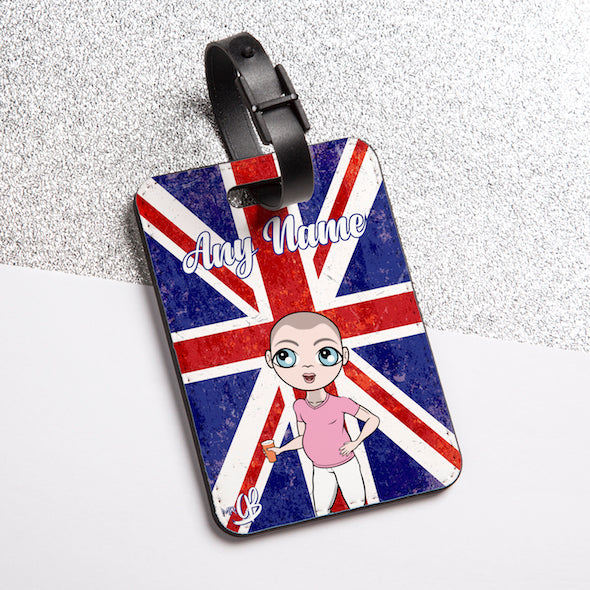 MrCB Union Jack Luggage Tag - Image 2