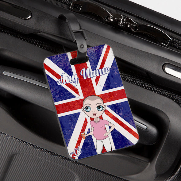 MrCB Union Jack Luggage Tag - Image 1