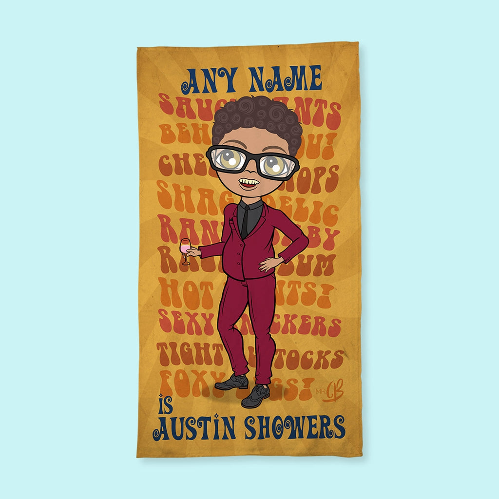 MrCB Austin Showers Hand Towel - Image 1