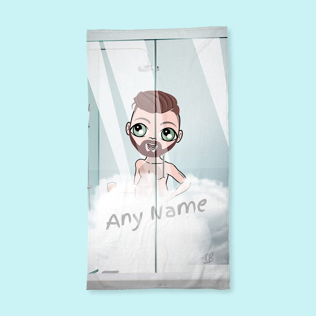 MrCB Shower Steam Hand Towel - Image 1