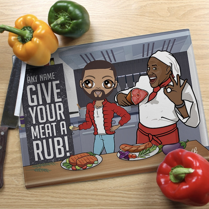 MrCB Glass Chopping Board - Meat - Image 1