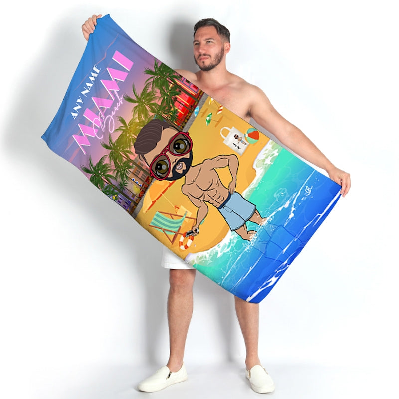 MrCB Miami Beach Towel - Image 1
