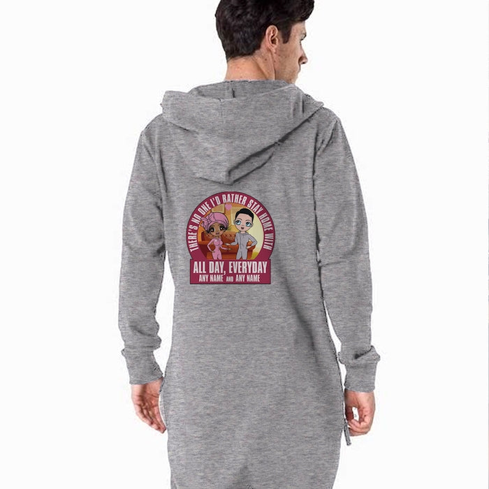 MrCB Adult Stay Home Couples Onesie - Image 3