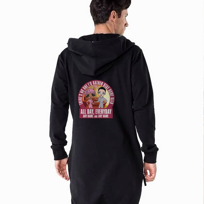 MrCB Adult Stay Home Couples Onesie - Image 1