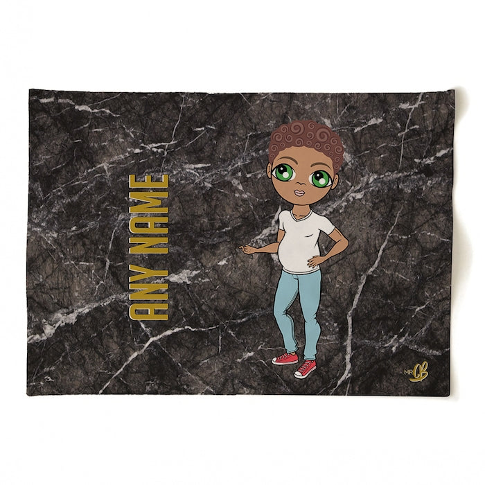 MrCB Personalised Marble Tea Towel - Image 2