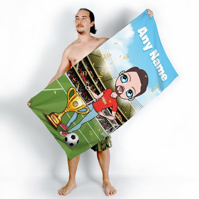 MrCB Football Champ Beach Towel - Image 2