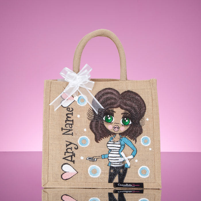 ClaireaBella Medium Mum To Be Jute Bag - Image 1