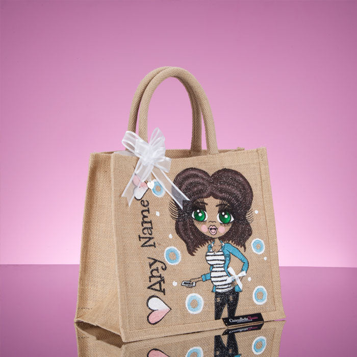 ClaireaBella Medium Mum To Be Jute Bag - Image 2