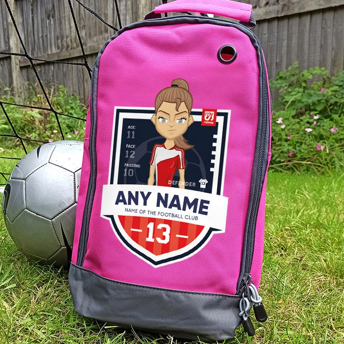 MySwag Girls Player Stats Boot Bag - Image 1