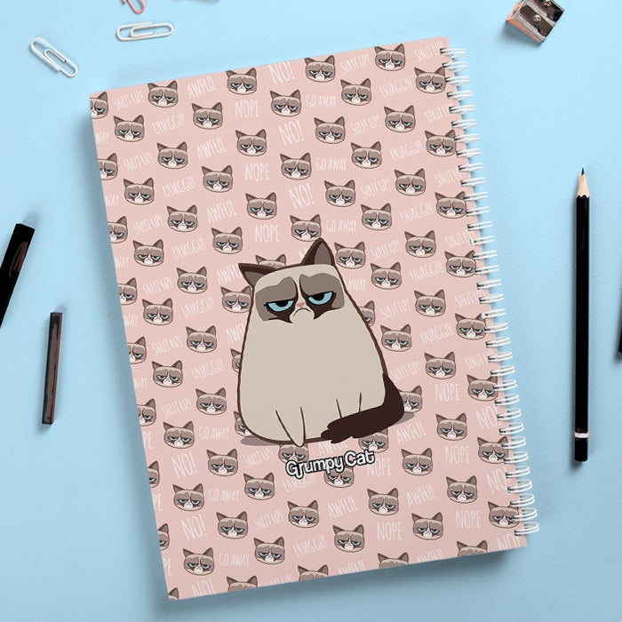 Grumpy Cat Emoji Hardback Notebook - Image 4