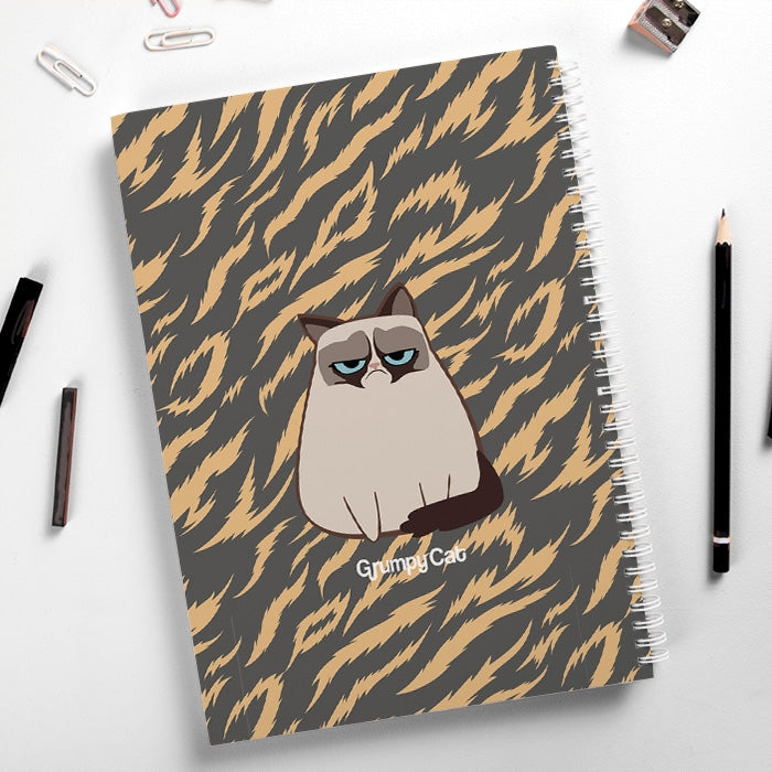 Grumpy Cat Animal Print Hardback Notebook - Image 4