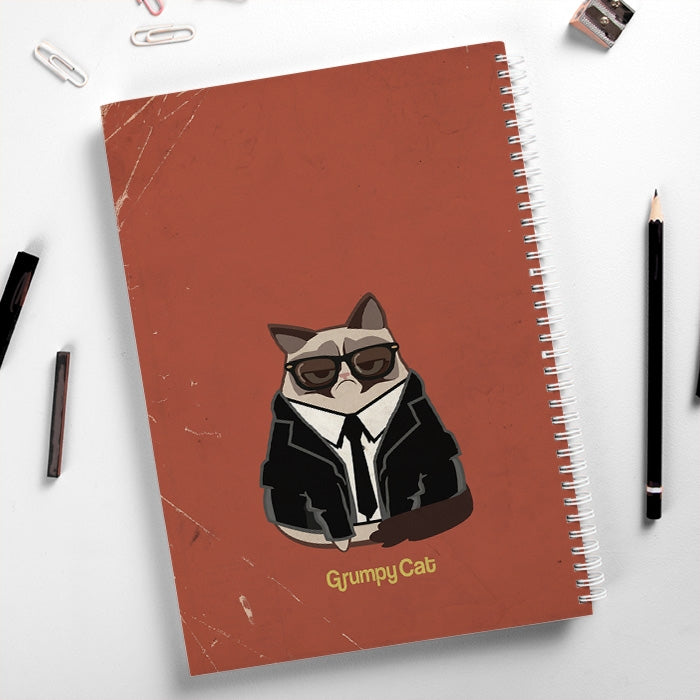 Grumpy Cat Pup Fiction Hardback Notebook - Image 4