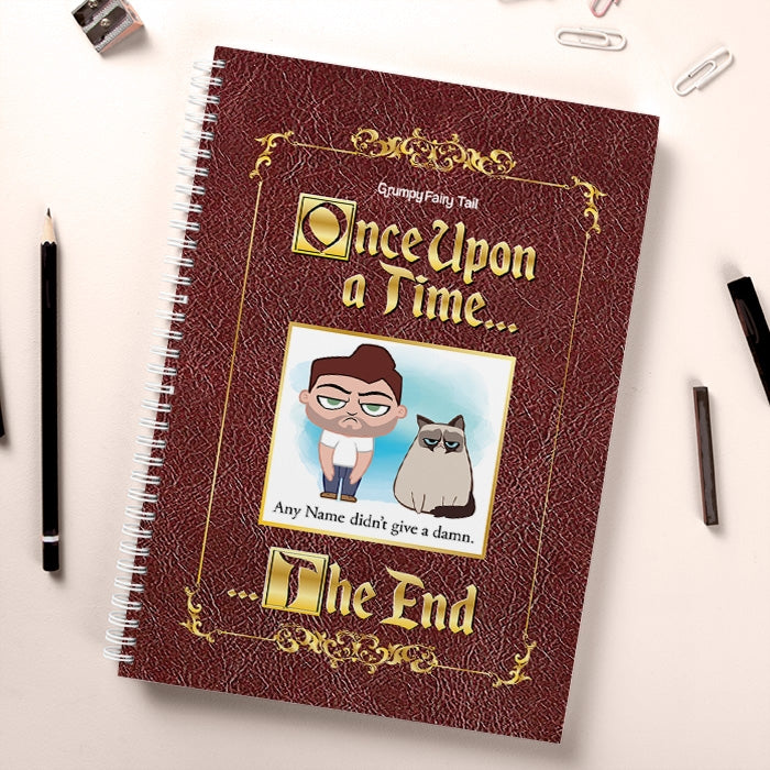 Grumpy Cat Fairy Tale Hardback Notebook - Image 1