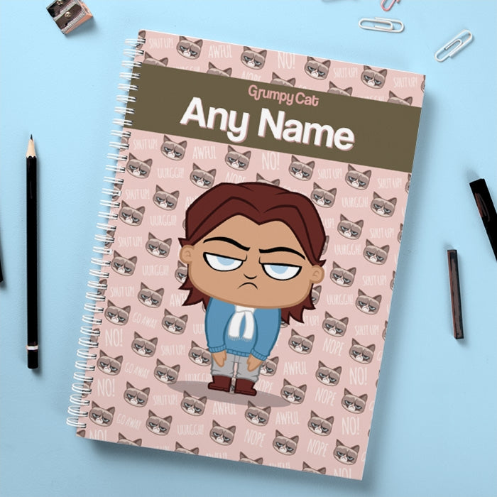 Grumpy Cat Emoji Hardback Notebook - Image 3