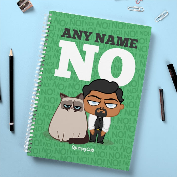 Grumpy Cat No Hardback Notebook - Image 1