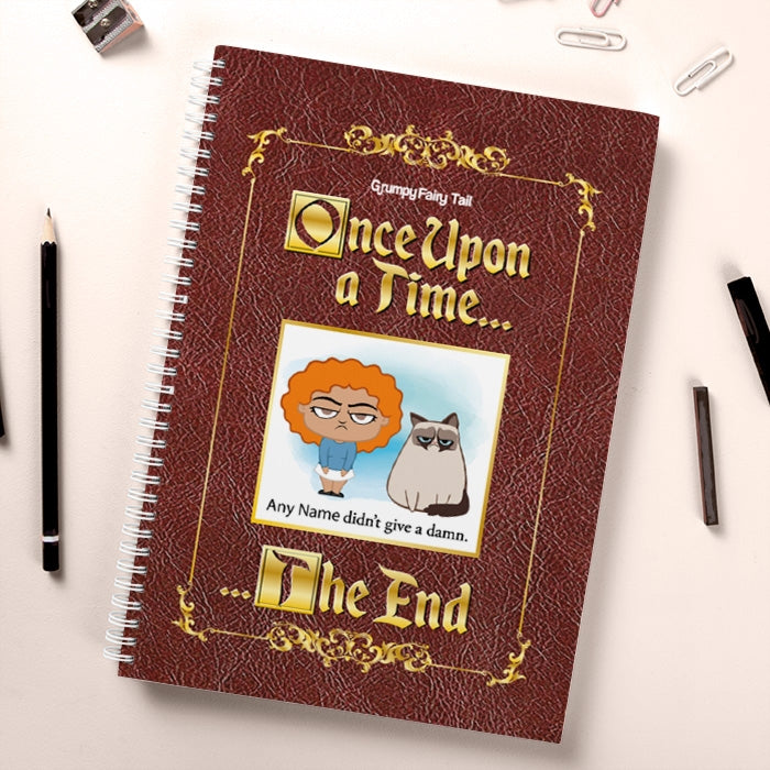 Grumpy Cat Fairy Tale Hardback Notebook - Image 3
