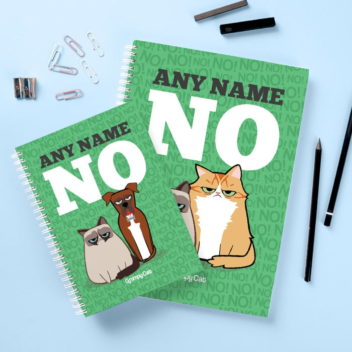 Grumpy Cat No Hardback Notebook - Image 2