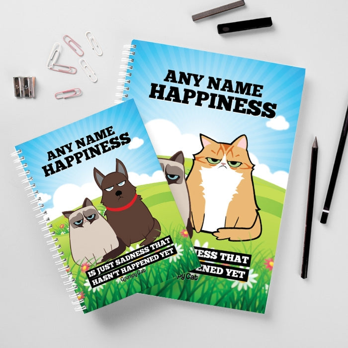 Grumpy Cat Happiness Hardback Notebook - Image 2