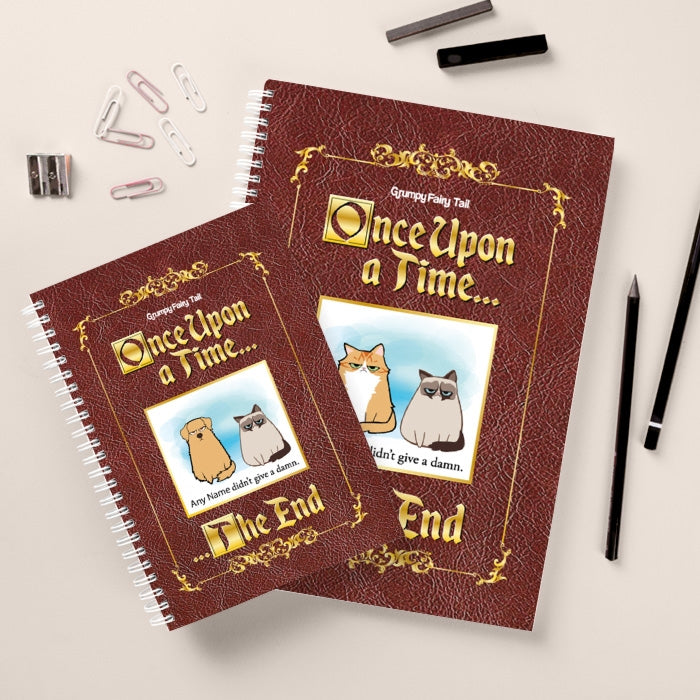 Grumpy Cat Fairy Tale Hardback Notebook - Image 2