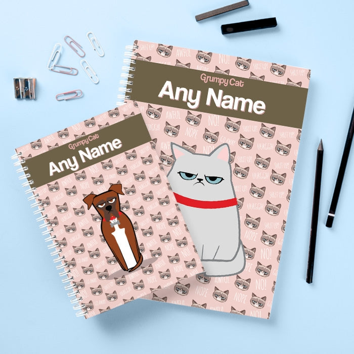 Grumpy Cat Emoji Hardback Notebook - Image 2