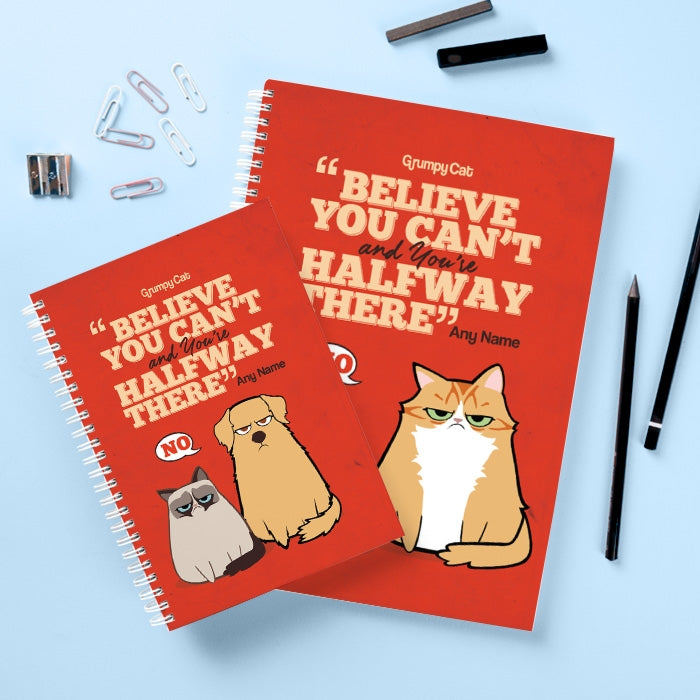 Grumpy Cat Believe Hardback Notebook - Image 2