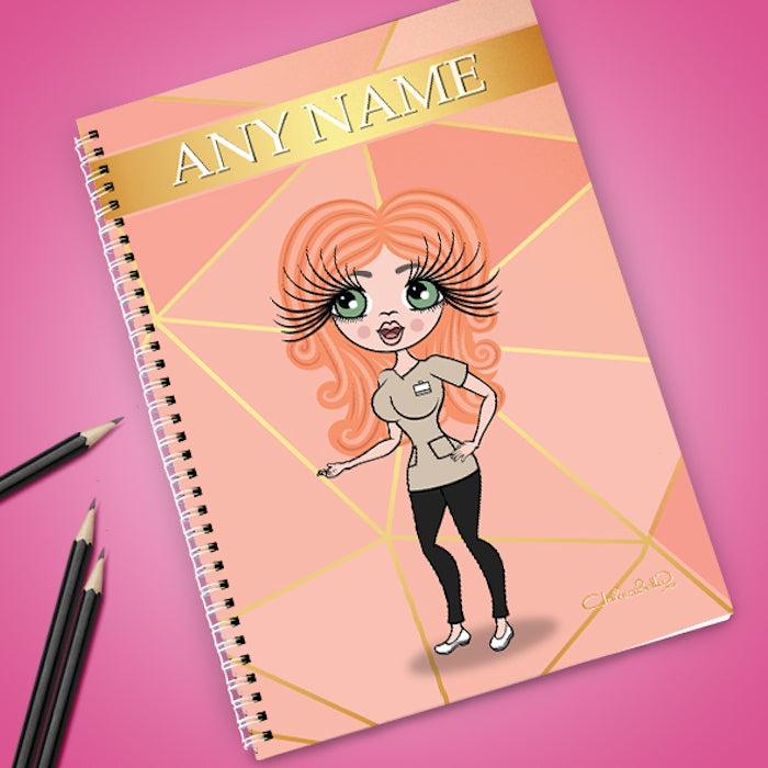 ClaireaBella Blush Notebook - Image 1