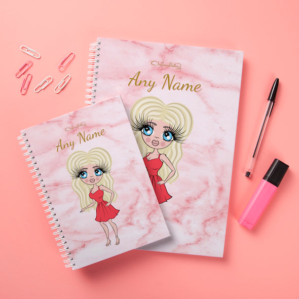 ClaireaBella Hardback Notebook - Marble Effect - Image 3