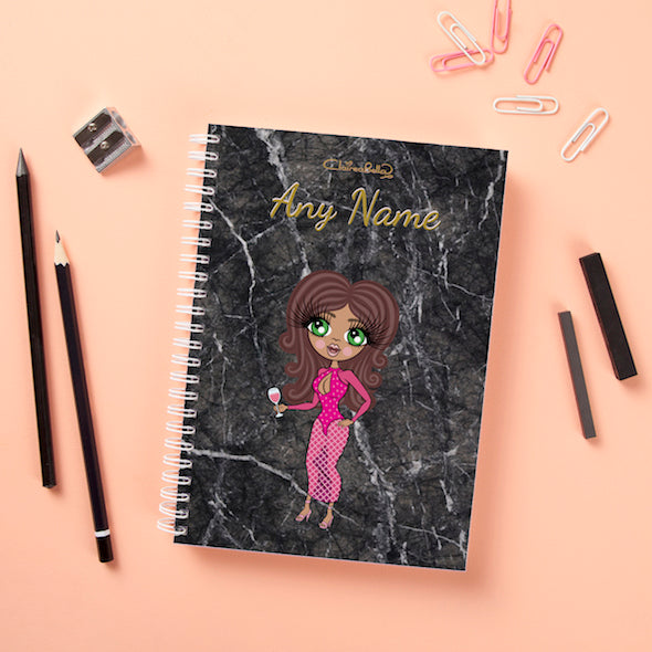 ClaireaBella Hardback Notebook - Marble Effect - Image 2