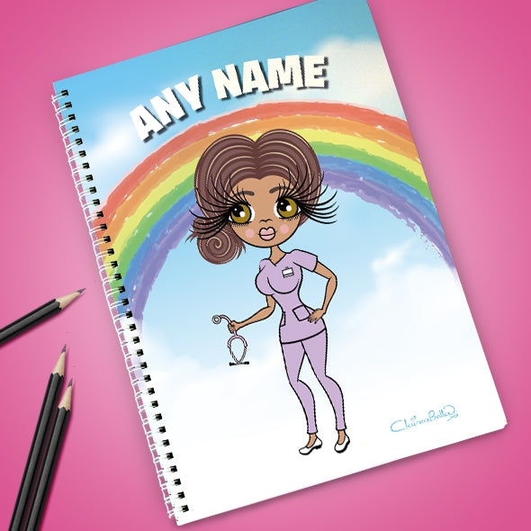 ClaireaBella Rainbow Notebook - Image 1