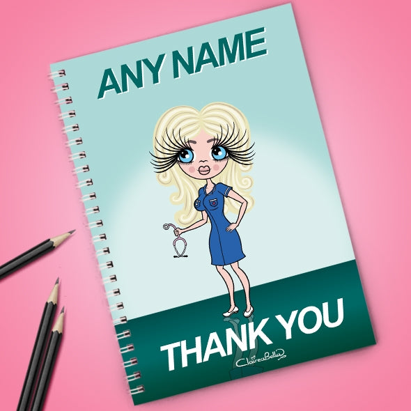 ClaireaBella Thank You Notebook - Image 1