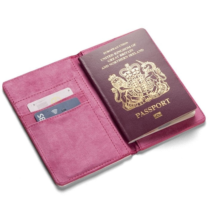 Grumpy Cat Resting Face Passport Cover - Image 1