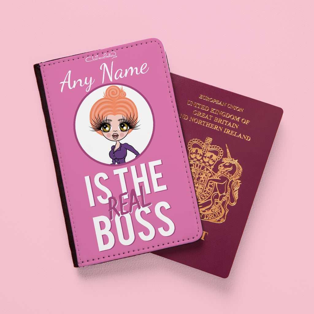 ClaireaBella The Real Boss Passport Cover - Image 2