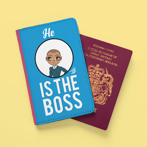 MrCB The Boss Passport Cover - Image 1