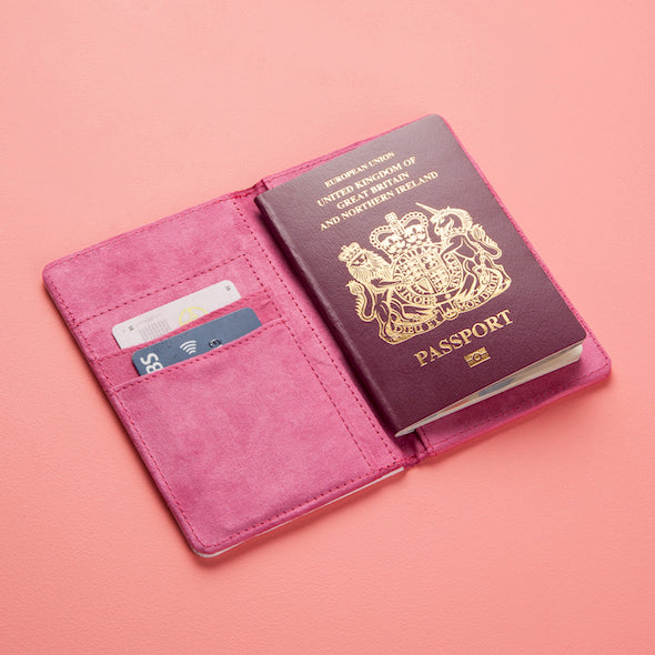ClaireaBella Neon Leaf Passport Cover - Image 3