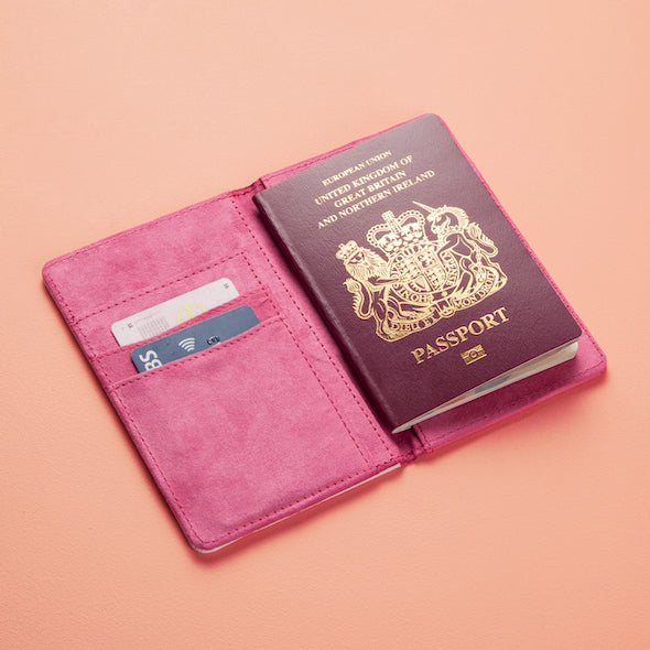 ClaireaBella Heart Print Passport Cover - Image 3