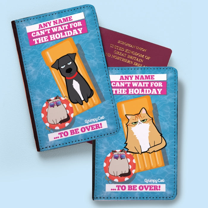 Grumpy Cat Holiday Over Passport Cover - Image 2