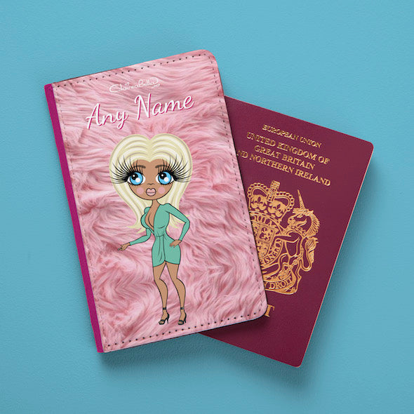 ClaireaBella Fur Effect Passport Cover - Image 4