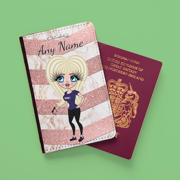 ClaireaBella Geo Chevron Passport Cover - Image 1