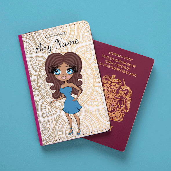 ClaireaBella Golden Lace Passport Cover - Image 6