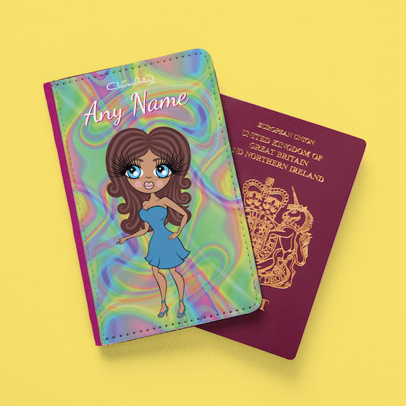 ClaireaBella Hologram Passport Cover - Image 2