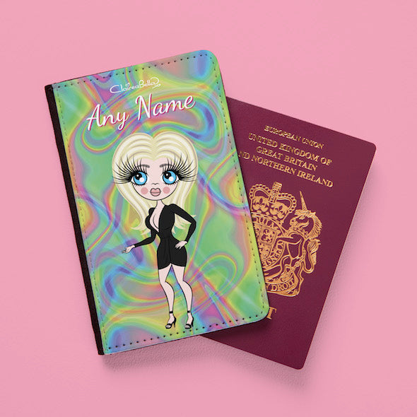 ClaireaBella Hologram Passport Cover - Image 1