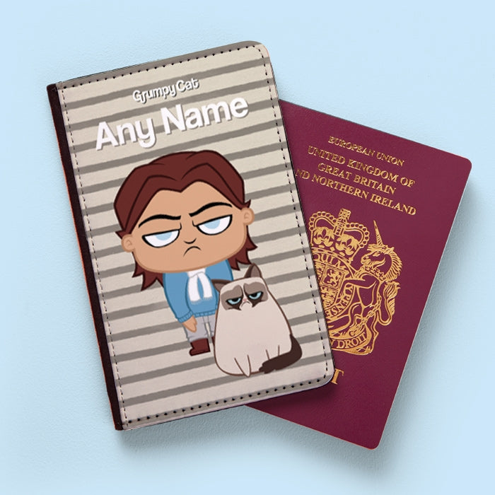 Grumpy Cat Stripe Passport Cover - Image 5
