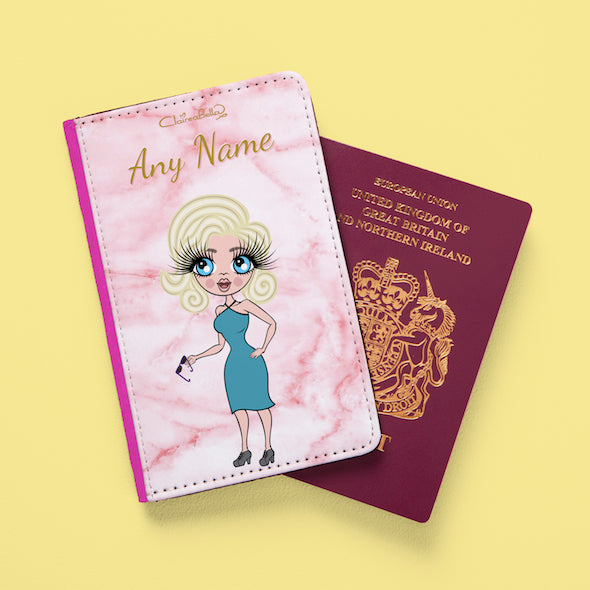 ClaireaBella Marble Effect Passport Cover - Image 8